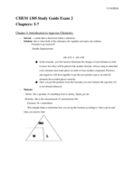 molarity triangle
