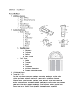 SCAD - CTXT 121 - Study Guide - Final