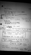 Chemistry 1100 - Class Notes - Week 15