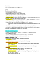 Syracuse - psy 335 - Class Notes - Week 12