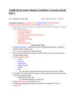 HIST 150 - Study Guide
