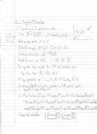 PHY 4606 - Class Notes - Week 6