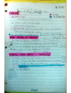 Public Policy  10 - Class Notes - Week 8