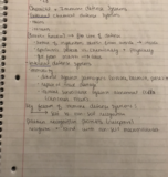UB - BIO 303 - Class Notes - Week 14