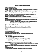 Syracuse - HST 213 - Study Guide - Final