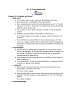 ant  2410 - Study Guide