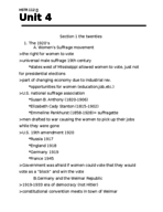 His 112 - Study Guide