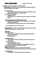 COMM 151 - Study Guide