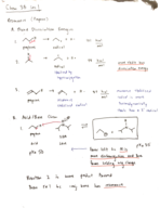CAL - CHEM 3b - Class Notes - Week 1