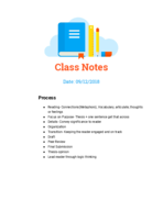 UCMerced - WRIT 001 - Class Notes - Week 3