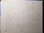 Baylor University - MTH 1309 - Class Notes - Week 1