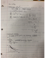 UCLA - ECON 121 - Class Notes - Week 1
