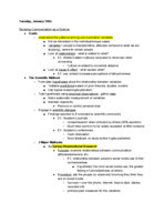 UCSB - COMM - Class Notes - Week 2