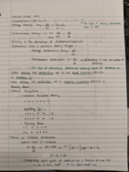 PHY 040 - Class Notes - Week 1