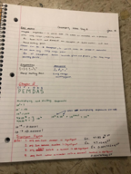 CHEM 1073 - Class Notes - Week 1