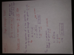 MA 109 - Class Notes - Week 2