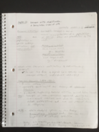 USF - BSC 2011 - Class Notes - Week 1