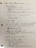 ECON 1113 - Class Notes - Week 2