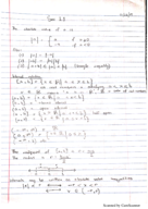Rutgers - Calculus 640 - Class Notes - Week 1