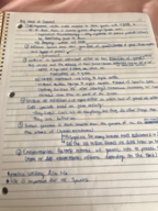 UCA - BIOL 1400 - Class Notes - Week 2