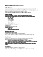 Virginia Commonwealth University - RELS 108 - Class Notes...