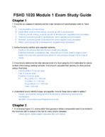 Dixie State University - NFS 1020 - Study Guide - Midterm
