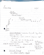 UIC - CHEM 232 - Class Notes - Week 2