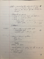 ECON 1113 - Class Notes - Week 3