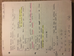 CHE 1113 - Class Notes - Week 1