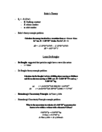 UCLA - Chemistry and Biochemistry 14a - Class Notes - Week 4