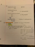 CHEM 1211 - Class Notes - Week 2