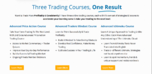 What is the advanced price action course?