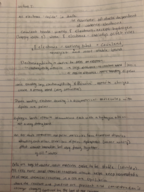 BIO - Class Notes - Week 1