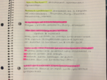 Biology B 305 - Class Notes - Week 2