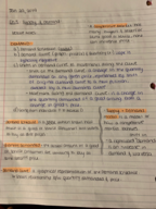 ECON - Class Notes - Week 3