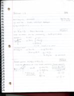 GSU - MATH - Class Notes - Week 3