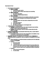 LING - Study Guide