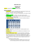 University of Hartford - M 116 - Study Guide - Midterm