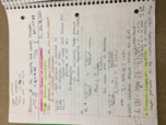 CHE 1113 - Class Notes - Week 4