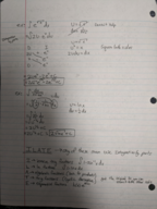 MATH 2414 - Class Notes - Week 4