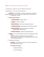 UIC - ANTH 102 - Class Notes - Week 1