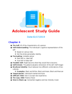 PSY 4210 - Study Guide