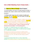 Clayton State - MATH 1101 - Study Guide - Midterm