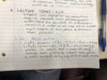 BIOL - Class Notes - Week 5