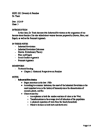 HDFS 202010 - Class Notes - Week 2
