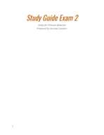 ANTH 2764 - Study Guide