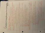 PSY - Class Notes - Week 4
