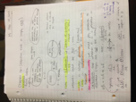 CHE 1113 - Class Notes - Week 6
