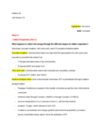 UCLA - Life Science 7A 363744 - Study Guide - Midterm