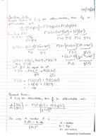 Rutgers - Calculus 640 - Class Notes - Week 5